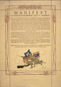 manifesto_to_czechoslovakian_people_in_america_-_chicago_february_11_1918