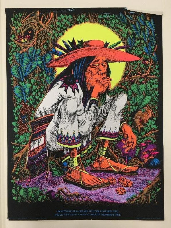 The First Of Which There Are Two Versions In LSD Collection Was Printed By San Francisco Artist