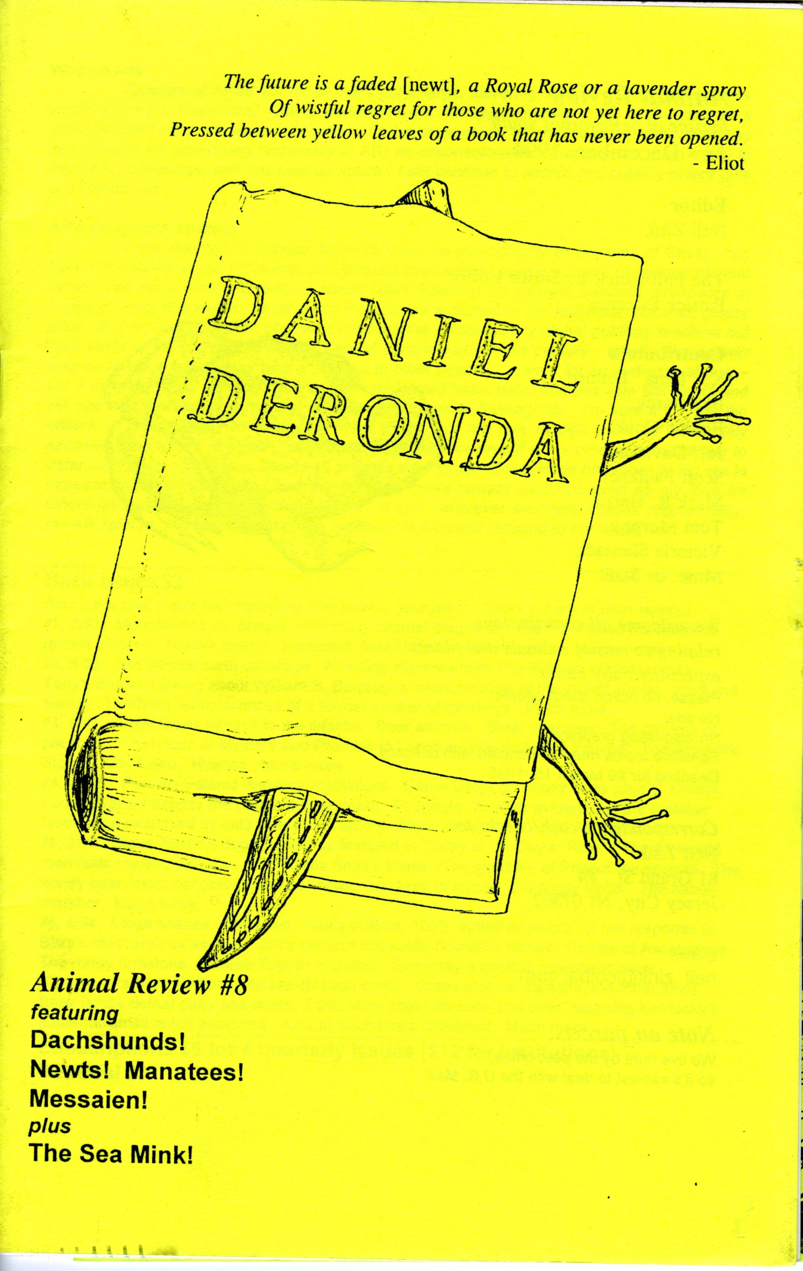 Cover of Animal Review #8