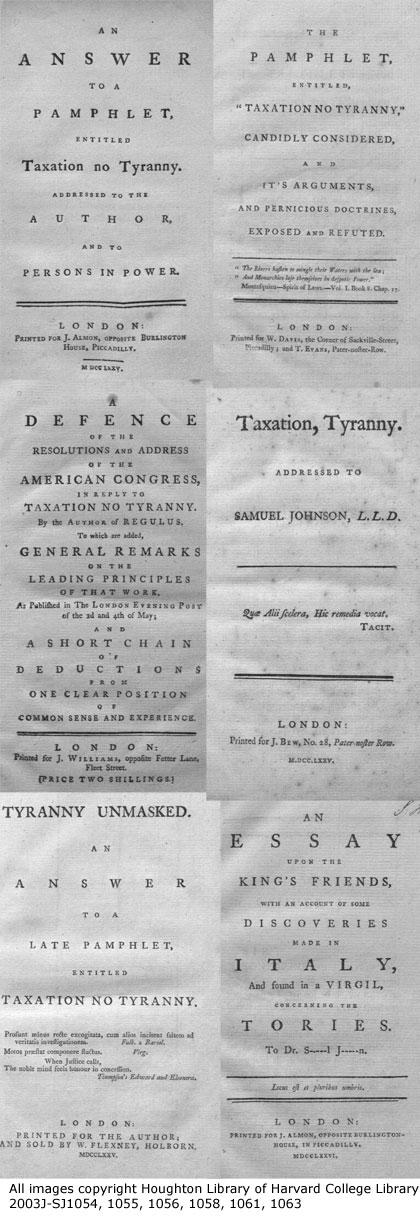 Tyranny responses