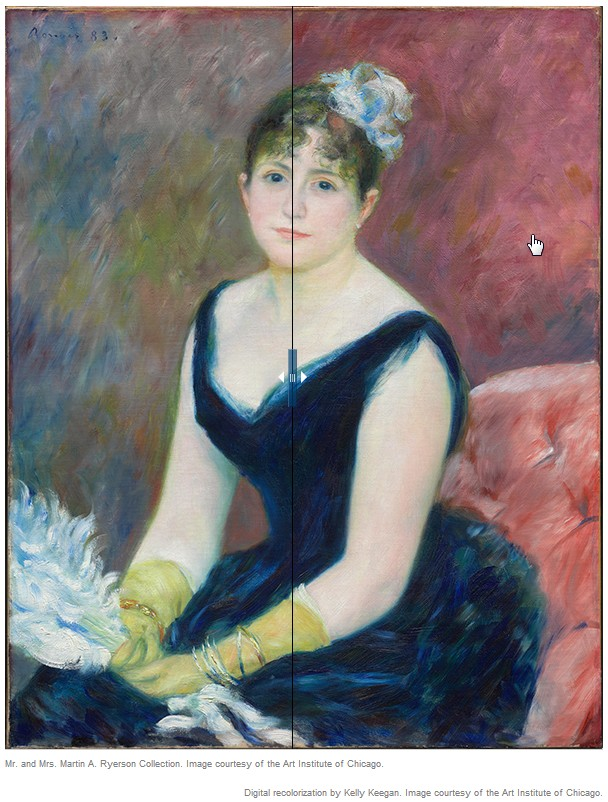 Renoir, now and then