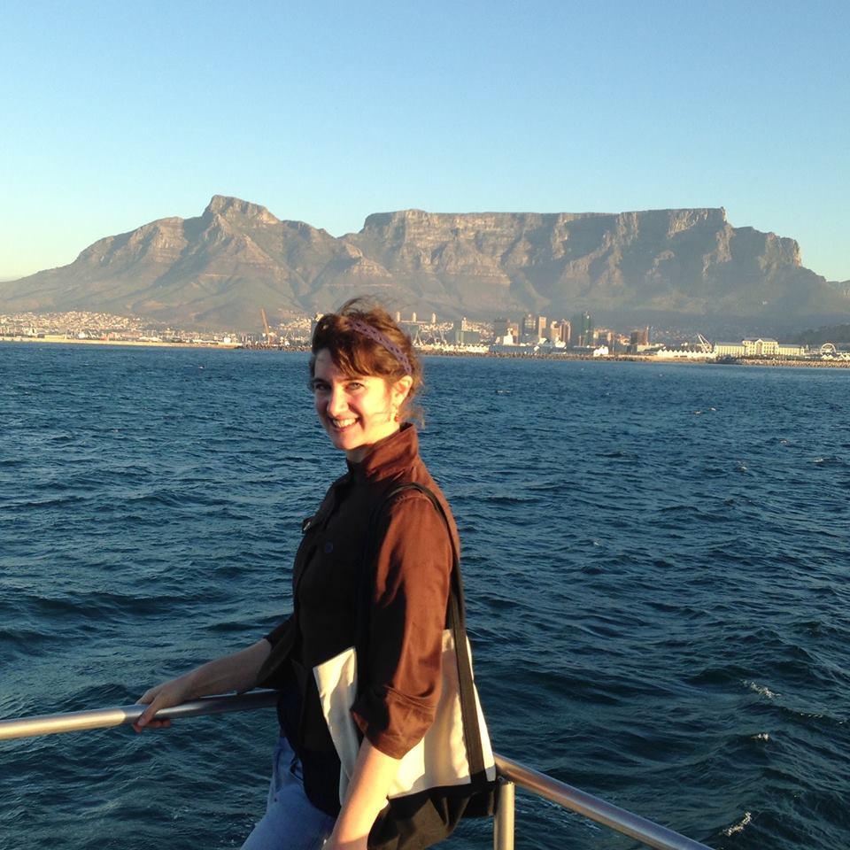 Katie Braun '17 in Cape Town