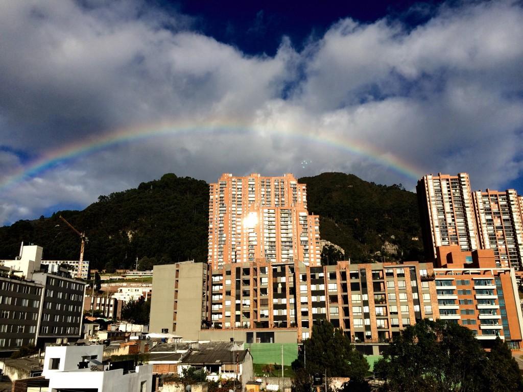 Bogota, photo courtesy of Kelsey Jost-Creegan.