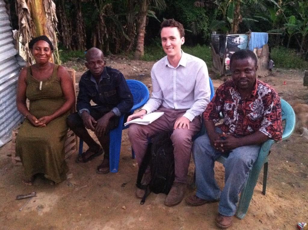 Korey Silverman-Roati in Ghana