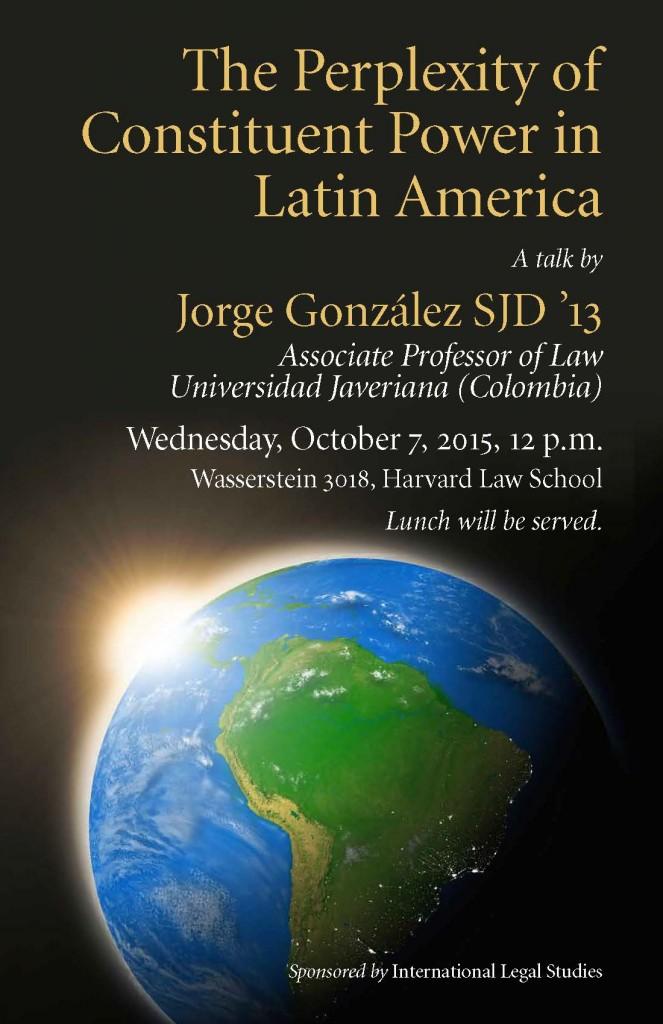 ILS Poster-Constituent Power in Latin America-González