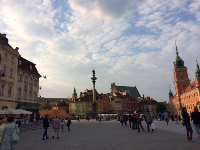 Old town, Warsaw. Photo courtesy of Amy Volz.