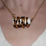 Amulet being worn