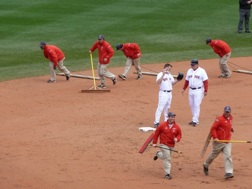 Clean up at Fenway