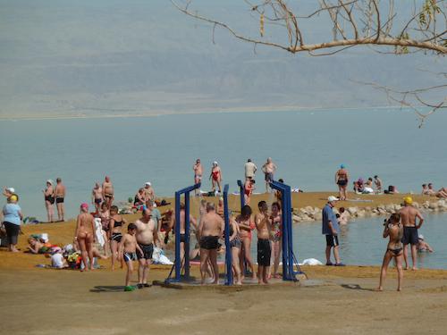 Dead Sea bathers