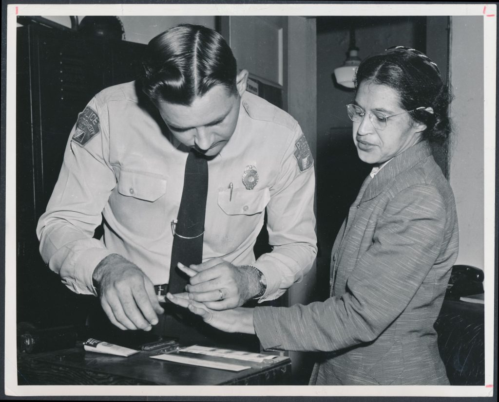 Rosa Parks refused to give up her bus seat and changed the world, this day in 1955.