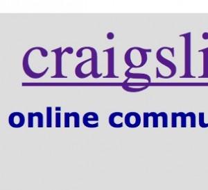 Craigslist -- online community