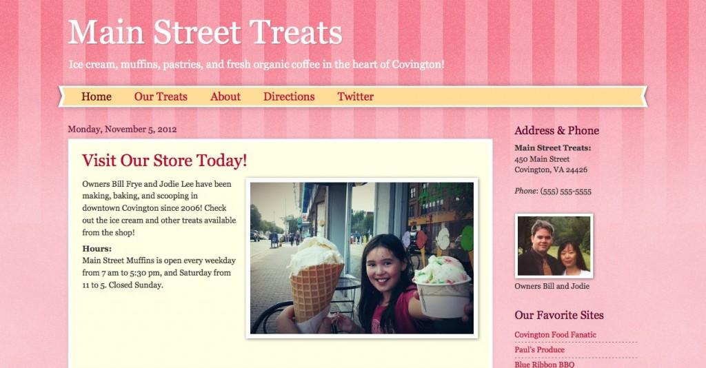 Blogger Watermark tempalte