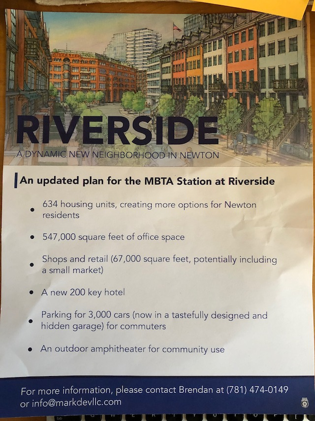 Robert Korff Mark Development RIverside MBTA parking lot development flyerflyer 121818 SMALL