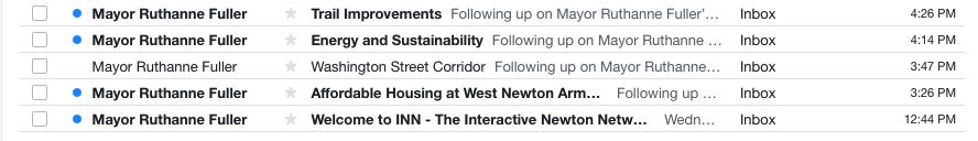 Newton mayor newsletter