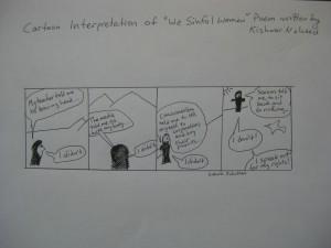 graphic novel strip 1