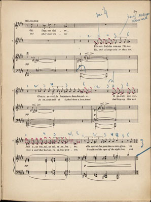 page from Pelléas