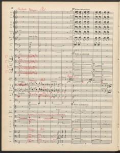 Gustav Mahler. Detail of 3rd Symphony. Merritt Room Mus 742.18.57