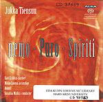 Jukka Tienssu. nemo - Puro - Spiriti. CD 37559