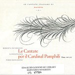 Handel, Cantate Italiane, vol. 1, CD 37786