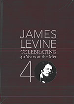 James Levine Celebrating 40 Years at the Met, DVD 1752-1763