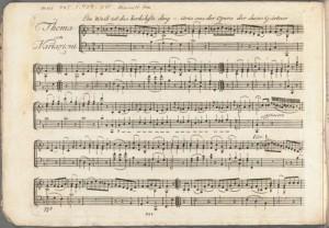 Wolfgang Amadeus Mozart. Detail, Variationen über das Lied Ein Weib ist das herrlichste Ding. Merritt Room Mus 745.1.429.50