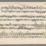 Johann Sebastian Bach, Fantasie und Fuge, BWV 906, [1815?]
