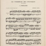 Maurice Ravel, Tombeau de Couperin, 1918