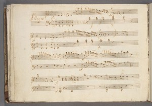 Quartet in G minor, K. 478 [mss]. Allegro. Merritt Room Mus 745.1.13