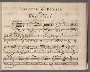 Luigi Cherubini, Overture, Faniska. Merritt Room Mus 637.1.618.5