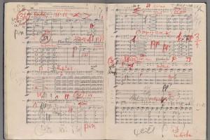 """Giuseppe Verdi, """"Forse la soglia attinse,"""" Un ballo in maschera. Merritt Mus 857.1.679.7 Solti. Gift of the Solti Estate."""