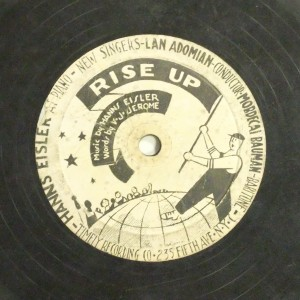 Label image, Rise up, 530 Timely Recording Co. Record Coll. 78-36634