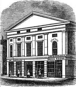etching of Tremont Temple