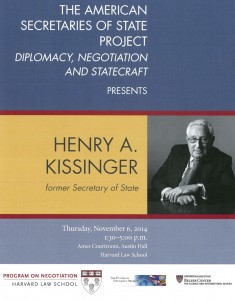 Henry Kissinger leaflet