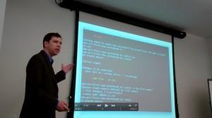 Mark Shead Teaching Git Class