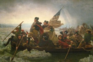 ...our little tiff in the late 18th century... / NYC - Metropolitan Museum of Art: Washington Crossing the Delaware / image by flickr user wallyg / used by permission