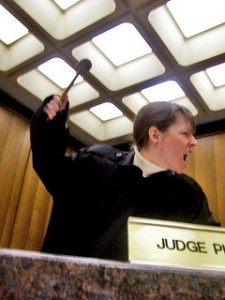 'Judge Coco Declares Ang Out of Line!' by flickr user Coco Mault