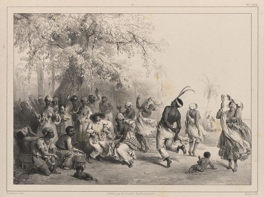 """""""Dou"""" or Great Slave Dance on New Year's Day"""