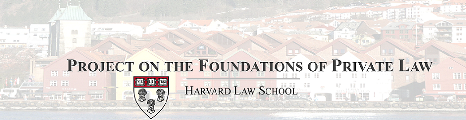 Project on the Foundations of Private Law