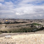 The Old City, as viewed from the Mount of Olives
