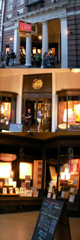 Harvard COOP bookshop
