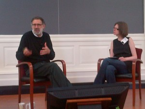 Mitch Resnick and Karen Brennan at Harvard Graduate School of Education