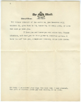 letter from Jonathan Mitchell, February 1928 -- page 2