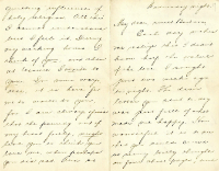Letter from John Nolen, October 1894 -- page 1