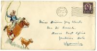 envelope from Andrus letter