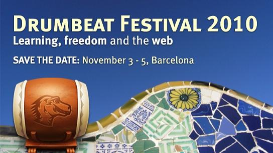Drumbeat Festival 2010: Barcelona Nov 3-5