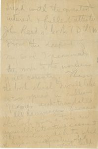 Lenin (1870-1924) Note praising Ten Days That Shook the World January 20, 1920 bMS Am 1091 (556);Gift of Corliss Lamont for the Harvard Alumni John Reed Committee, 1936