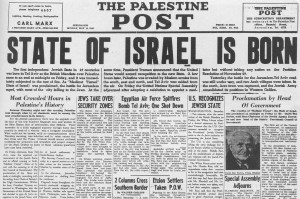 Israel-is-born 1948