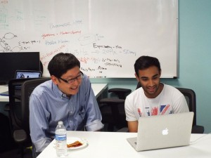 Terrence Yang Mentoring Startup UCLA Acceleratee