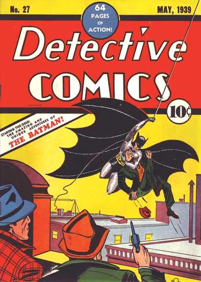 Detective Comics No. 27: Batman's first appearance