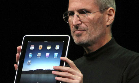 Steve Jobs and Apple's new product: the iPad